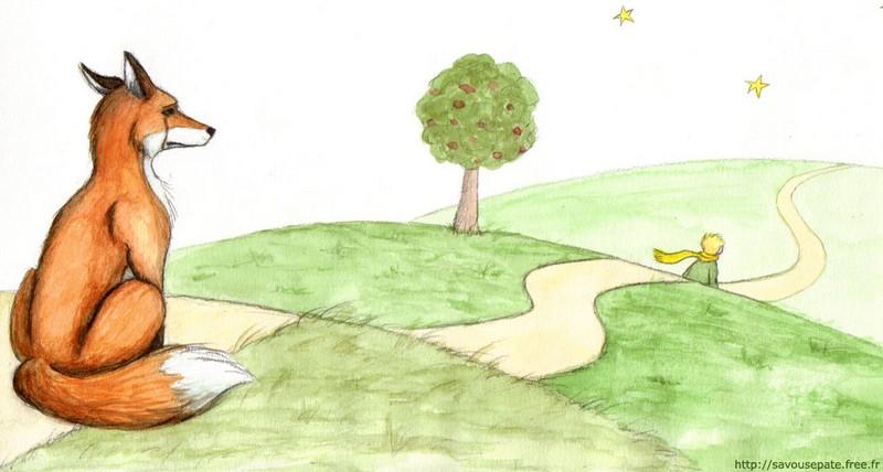Le petit prince - the fox